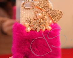 Stylish Furry Series Bling iPhone 6 Crystal Case (4.7 inches) -Magenta www.dsstyles.com/...