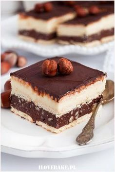 No Bake Desserts, Just Desserts, Delicious Desserts, Dessert Recipes, Yummy Food, Crazy Cakes, Sweets Cake, How Sweet Eats, Homemade Cakes
