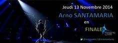 Arno est en #Finale de #RisingStar (M6) ce jeudi 13 novembre ! Plus que jamais, il a besoin de votre soutien, votez pour lui !!