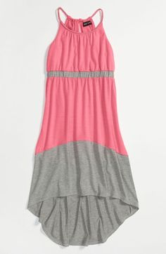 Cute dress for katie!  Paper Doll Colorblock Maxi Dress (Little Girls & Big Girls) available at Nordstrom