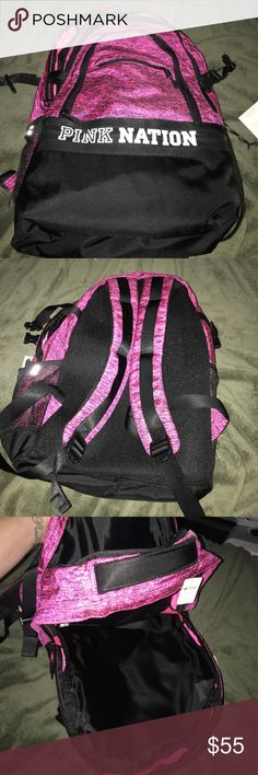 PINK nation backpack NWT, make an offer. SIZE 7W 16 H 12 L PINK Victoria's Secret Bags Backpacks