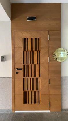 House Main Door Design, Small House Interior Design, Interior Design Photos, Front Door Design, Home Room Design, Wardrobe Door Designs, Beautiful Home Designs, Diy Home Decor Bedroom, Interiors
