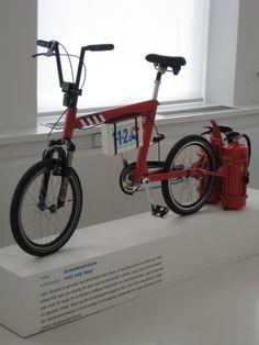 -bike - brandweerfiets (fire dept. bike)  -designer - roel van heur