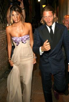 Lapo. love Bianca Brandolini's dress