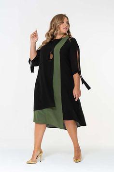 Платья для полных женщин российского бренда Intikoma осень 2019 Boho Fashion, Womens Fashion, Fashion Design, Plus Size Fashion, Casual, Cold Shoulder Dress, Dresses For Work, Elegant, Outfits