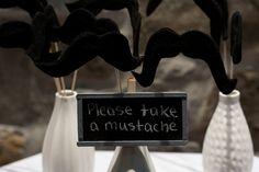 wedding inspiration #moustaches