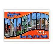 NC Retro Postcard