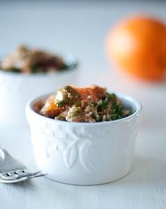This recipe sounds like a great way to seasonally change up one of my new favorite meals: taboulleh. Check out this recipe for Winter Citrus Millet Taboulleh