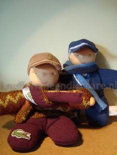Knuffelvaneendierbare.nl -   gespecialiseerd in op maat gemaakte knuffels van dierbare kledingstukken.