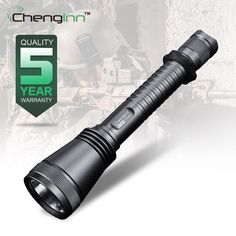 Led Lighting Yupard Xm-l2 T6 Led Waterproof Flashlight Lamp Torch Tactical Camping Outdoor Torch+2* 2200mah 18650 Battery+charger Sale Price