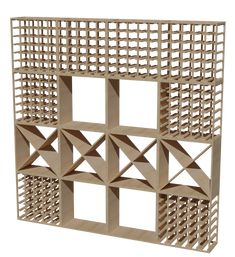 Wine Rack Set 4x4 Wine Racks, Visual Communication Design, Wine Collection, Wine Storage, Woodworking Projects Plans, Black And Brown, Wood Shelves, Pine, Display
