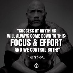 Isn't that the truth!? Double-tap if you agree! #s2s | @therock