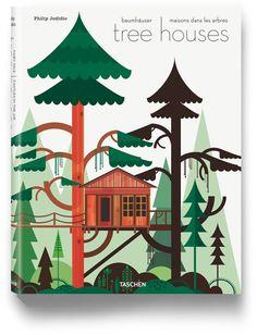 Um livro de casas na árvore
