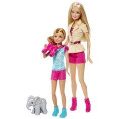 SISTERS' SAFARI FUN!™ BARBIE® & STACIE® Dolls - Shop.Mattel.com