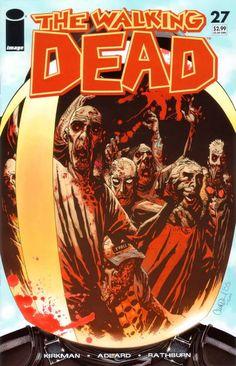 Capa da Edição #27 de The Walking Dead