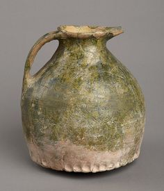 Pottery jug, 14th to 15th century by Birmingham Museum and Art Gallery, via Flickr