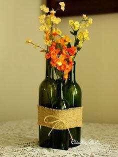 Vou fazer isso com as garrafas verdes ;)