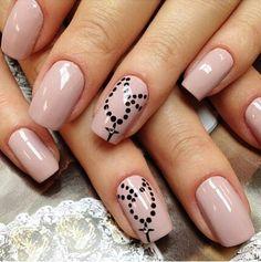 Really cute religious nail design