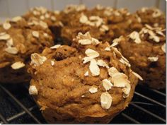 These don't have any oil or butter, but are still moist and delicious and packed with nutrition.