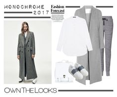 """MONOCHROME 2017"" by barngirl ❤ liked on Polyvore featuring Proenza Schouler, rag & bone, ADAM, Steffen Schraut and Valentino"
