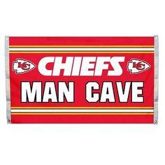 Man Cave Flag - Kansas City Chiefs