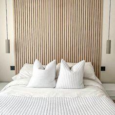 Wood Slat Wall, Wooden Wall Panels, Wood Panel Walls, Wooden Slats, Diy Wall Panel, Wood Wall Paneling, Wood Slat Ceiling, Panelling, Feature Wall Bedroom