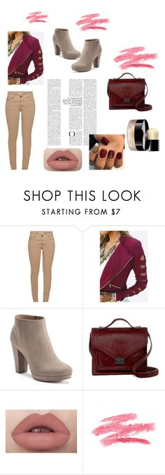 """Untitled #16"" by arnela1242 on Polyvore featuring Barbour, LC Lauren Conrad, Loeffler Randall and Chanel"