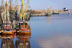 "Kutter- und Hafenromantik in Greetsiel/Ostfriesland - ""Fee ist mein Name"" // Greetsiel harbor East Frisia"