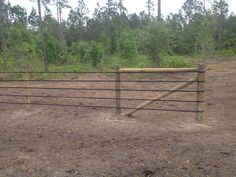 Rubber Fencing($.15/ft - $.30/ft) has been used for more than 40 years and provides an economic al and durable alternative for your prized animal containment. In this picture 2 in. material was used on the road...