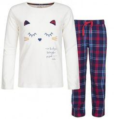 6ebe3770ae Endo - Piżama z długim rękawem dla dziewczynki 3-8 lat D82V004 1 Pajamas