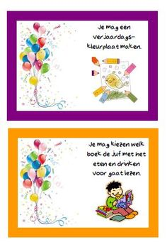 Primary School, Party Gifts, Diy And Crafts, Kindergarten, Happy Birthday, Classroom, Frame, Kids, Birthday