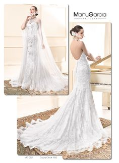 Manu García 2015 Wedding Dress Collection