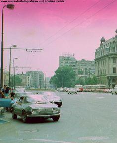 1974, la Universitate. Mașini de lux și Dacii.