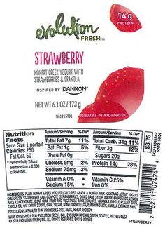 Greencore, USA - Rhode Island, Issues Allergy Alert Due to the Potential for Undeclared Almonds in Evolution Fresh Nonfat Greek Yogurt with Strawberry and Granola Parfaits Sold in 266 Locations in Massachusetts, Rhode Island, New Hampshire, New York, Connecticut, Vermont and Maine