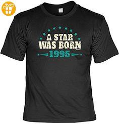 Zum Geburtstag - A Star was born 1995 - T-Shirt - Ein perfektes Geschenk! - Shirts zum geburtstag (*Partner-Link)