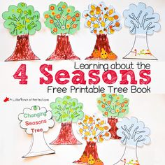 With the changing of the weather, my kid's natural curiosity, and the addition of calendar time to our day, a lesson about the reason for the 4 seasons was in order. With this activity we discussed things we noticed about each season, decorated trees, and then combined it all to make an adorable book to …