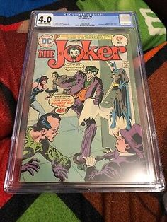 The Joker 1 CGC 1975 DC Comics batman Catwoman Riddler Penguin cover Batman And Catwoman, Joker, Jonathan Crane, Comic Books For Sale, Reverse Flash, Batman Returns, Riddler, Penguins, Superman