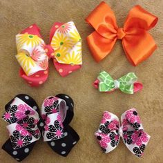 Bows for Addison :-)