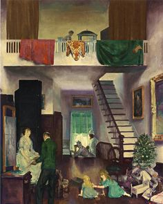George Bellows, 1919 The Studio oil on canvas 121.9 x 96.5 cm