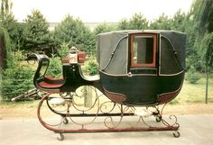 View topic - Thinking of a new ride: wagon edition Vintage Sled, Horse Drawn Wagon, Old Wagons, Dashing Through The Snow, Horse And Buggy, Old English, Winter Snow, Horses, Toys
