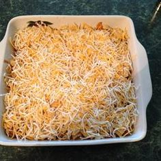 Easy Taco Casserole. Made this for a church potluck and it was a hit!