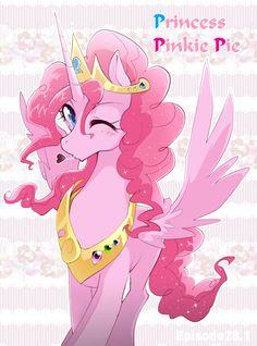 Princess Pinkie Pie by Yuki-zakuro Pinkie Pie, Mlp My Little Pony, My Little Pony Friendship, Raimbow Dash, Little Poni, Imagenes My Little Pony, Mlp Fan Art, Pony Drawing, Twilight Sparkle