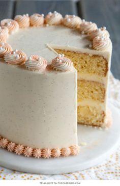 Orange Creamsicle Cake     by Tessa Huff for TheCakeBlog.com