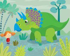 Dinosaur Discussion with Dalia