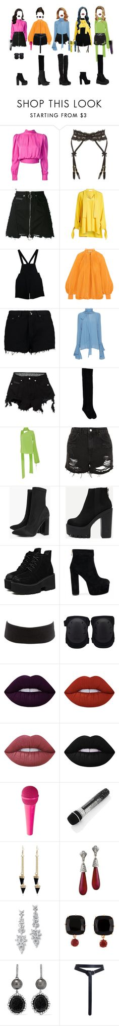 """[ live ] G-3 _ MY LOVE"" by xxeucliffexx ❤ liked on Polyvore featuring Yves Saint Laurent, Agent Provocateur, County Of Milan, Nobi Talai, American Apparel, TIBI, Boohoo, Marni, Emilio Pucci and Charlotte Russe"