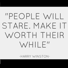 people will always stare at you, dont take offense or think anything bad.  its human to stare or look over heck i do it when im driving i look in the other car.. it happens, its called life!