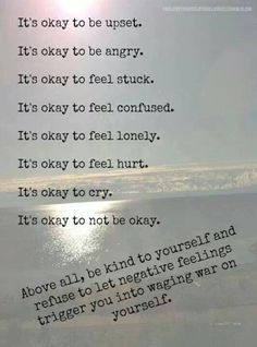 It's okay to be human. This is helping no heal my ptsd better than anything!!