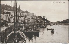 """The Quay, West Looe, Cornwall, - Valentine's Postcard """" Looe Cornwall, Devon And Cornwall, Quay West, Postcards For Sale, South Yorkshire, Advertising Photography, Old Paper, Rest Of The World"""