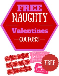 Valentines Day is right around the corner and I love to gift my man with all sorts of sexy gifts. One of the little things I like to include for him is a super naughty set of sexy coupons for him to redeem throughout the year. Don't worry! These coupons can be used for your girl too!