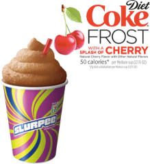 FREE Small Diet Coke Frost With A Splash of Cherry Slurpee at 7-eleven - http://freebiefresh.com/free-small-diet-coke-frost-with-a-splash-of-cherry-slurpee-at-7-eleven/